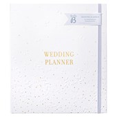 Busy B Wedding Planner White