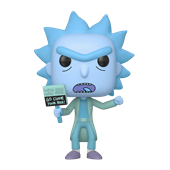 Funko! Pop Rick and Morty Hologram Rick