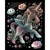 Scraperfoil Artfoil Kawaii - Unicorn