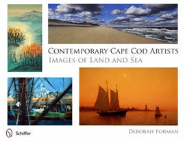 Contemporary Cape Cod artists images of land and sea by Deborah Forman