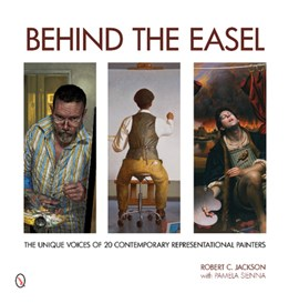 Behind the easel by Robert C. Jackson