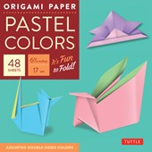 "Origami Paper - Pastel Colors - 6 3/4"" - 48 Sheets"