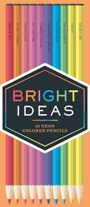 Bright Ideas Neon Colored Pencils: 10 Colored Pencils