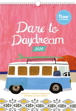 Dare to Daydream Wall Calendar 2020 by Editors of Flow magazine