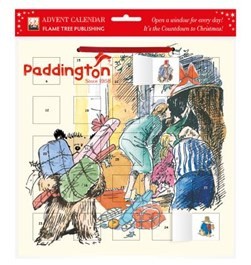 Paddington - Peggy Fortnum advent calendar (with stickers) by Flame Tree Studio