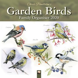 Chris Pendleton Garden Birds Family Organiser (Art Calendar) 2020 by Flame Tree Studio