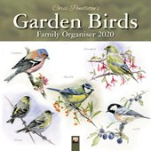 Chris Pendleton Garden Birds Family Organiser (Art Calendar) 2020