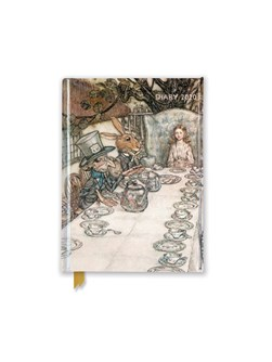 Arthur Rackham: Alice at the Tea Party Pocket Diary 2020 by Flame Tree Studio