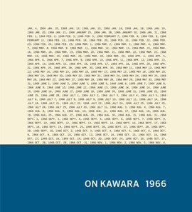 On Kawara 1966 by Tommy Simoens