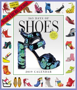 365 Days of Shoes Picture-A-Day Wall Calendar 2019 by Workman Publishing