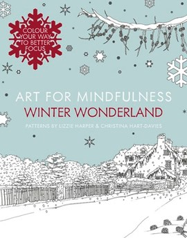 Art for mindfulness. Winter wonderland by Lizzie Harper