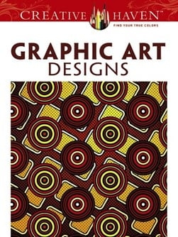 Creative Haven Graphic Art Designs Coloring Book by Jeremy Elder