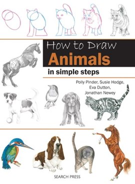 How to draw animals in simple steps by Polly Pinder