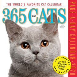 365 Cats Page-A-Day Calendar 2020 by Workman Calendars
