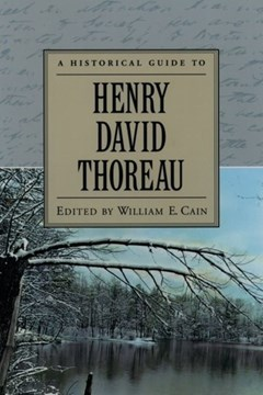 A historical guide to Henry David Thoreau by William E Cain