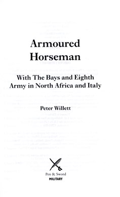 Armoured horseman by Peter Willett