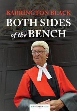 Both sides of the bench by Barrington Black