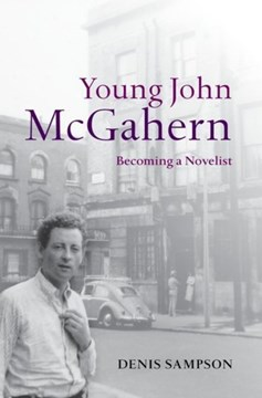 Young John McGahern by Denis Sampson