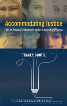 Accommodating justice by Tracey Booth