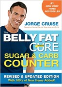 The belly fat cure sugar & carb counter