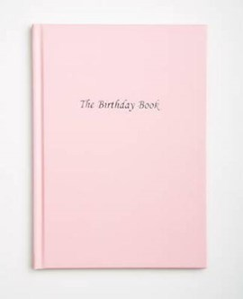 The Birthday Book - Pink by Neil Bowman