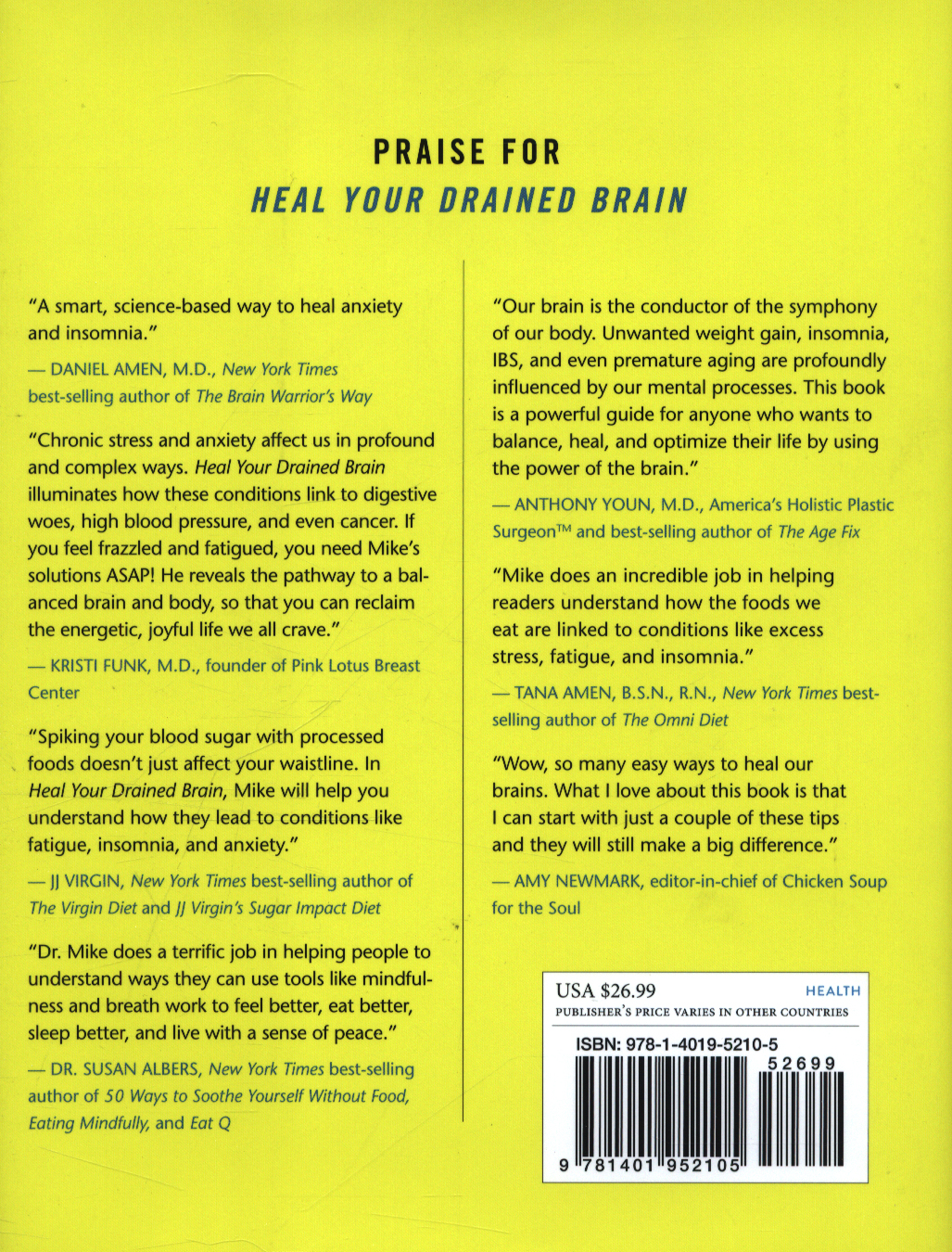 Heal your drained brain hb dr mike dow heal your drained brain solutioingenieria Choice Image