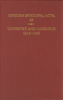 Coventry and Lichfield by Jeffrey H. Denton