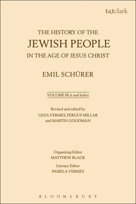 The history of the Jewish people in the age of Jesus Christ. Volume 3 by Emil Schürer