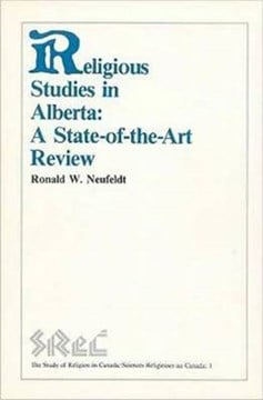 Religious Studies in Alberta by Ronald W. Neufeldt