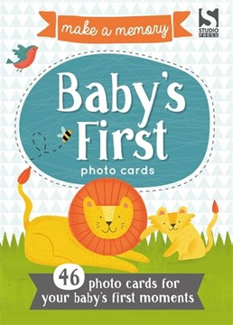 Make a Memory Baby's First Photo Cards by Holly Brook-Piper