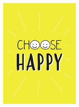 Choose happy by Summersdale Publishers