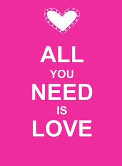 All You Need Is Love H/B by Summersdale