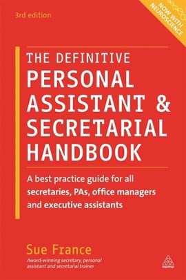 The definitive personal assistant & secretarial handbook by Sue France