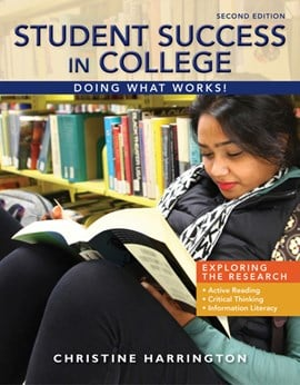 Student Success in College by Christine Harrington