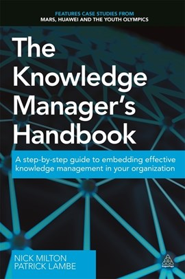 The knowledge manager's handbook by Nick Milton