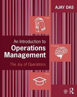 An introduction to operations management by Ajay Das