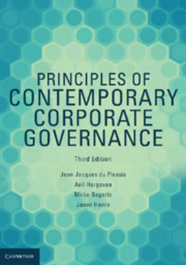 Principles of contemporary corporate governance by Jean Jacques Du Plessis