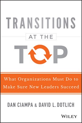 Transitions at the top by Dan Ciampa