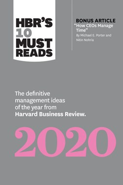 HBR's 10 must reads 2020 by Harvard Business Review Press