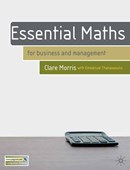 Essential maths for business and management