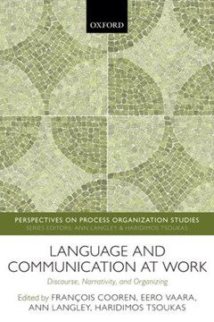 Language and communication at work by François Cooren
