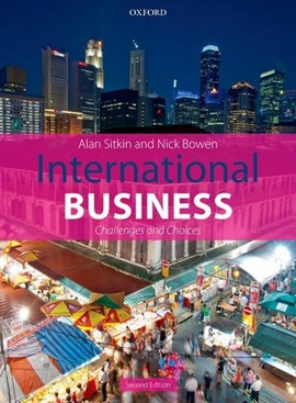 International business by Alan Sitkin