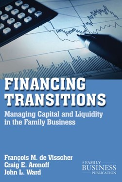 Financing transitions by François M De Visscher