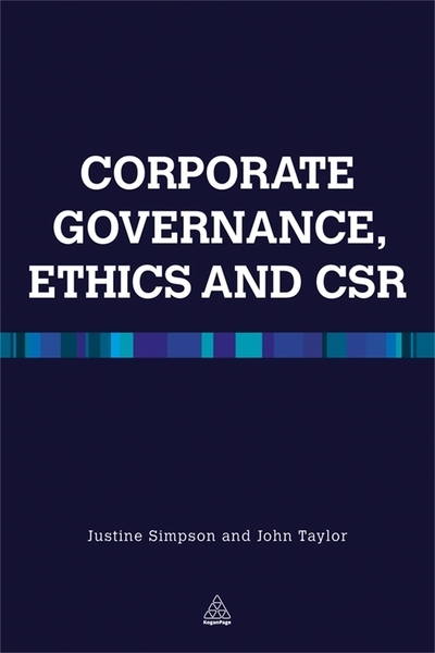 Corporate governance, ethics and CSR
