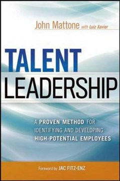 Talent leadership by John Mattone