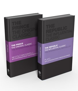 The Influential Classics Collection: The Republic and The Prince by Plato