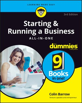 Starting & running a business all-in-one for dummies by Colin Barrow