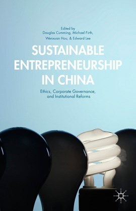 Sustainable entrepreneurship in China by Douglas Cumming