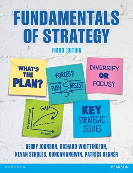 Fundamentals of strategy by Gerry Johnson