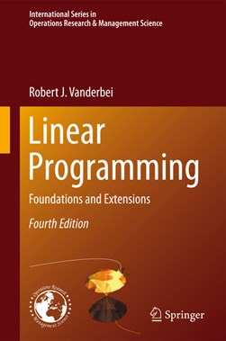 Linear programming by Robert J Vanderbei